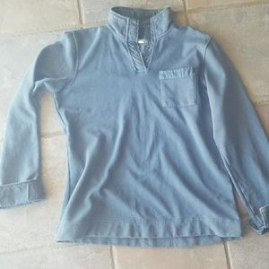 Navy blue Orvis sweatshirt